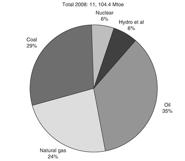 Figure 1: World primary energy production